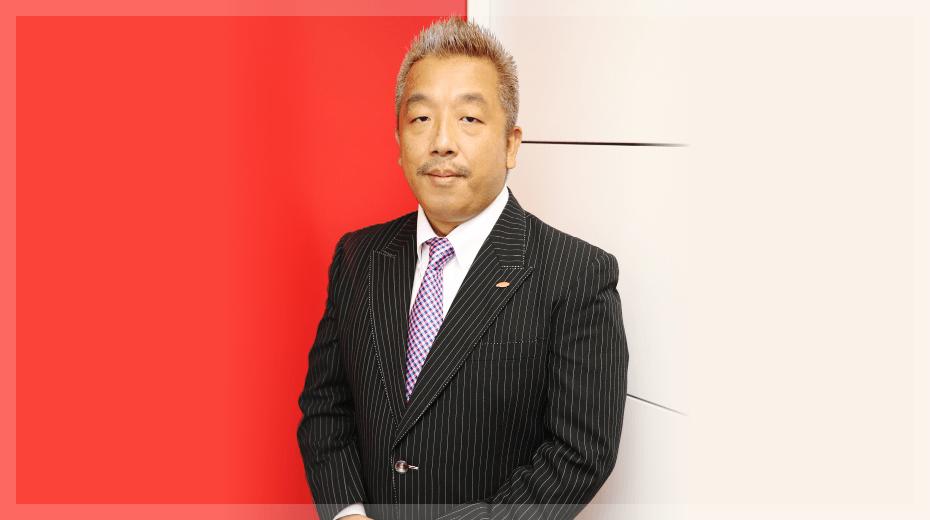 EXCEED Japan's president Koichi who praises